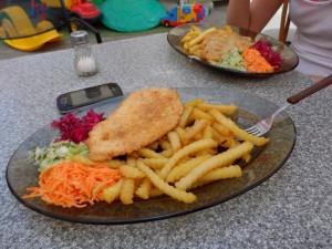 Typowy zestaw obiadowy